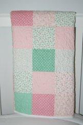 "Custom Playmat ""Pinks/Greens/White"""