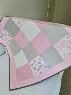Playmat Grey/Pale Pink